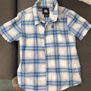 Boys quicksilver shirt